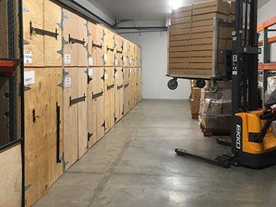 Las Vegas Nevada Wine Storage Facility Temperature Controled